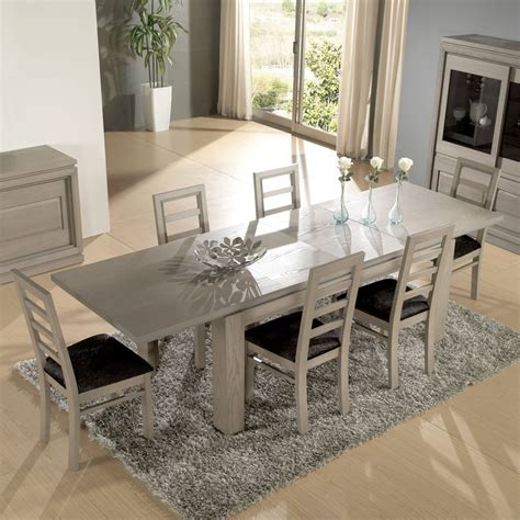 table a manger plus chaise best salle a manger moderne contemporary lalawgroup us