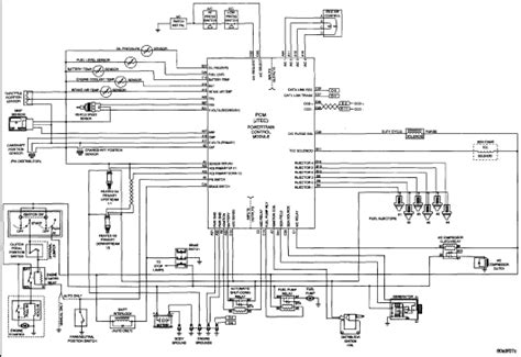 Wiring Diagram Engine Control Module Jeep Wrangler Mur