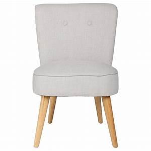 Fauteuil Gris Clair : fauteuil design tomaz 76cm gris clair ~ Teatrodelosmanantiales.com Idées de Décoration