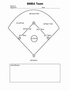 baseball positions diagram clipartsco With baseball position chart template