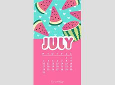 July 2017 Calendar + Tech Pretties Dawn Nicole Designs