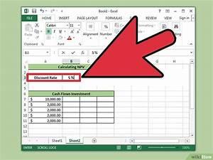 Stichprobengröße Berechnen Excel : in excel den kapitalwert berechnen wikihow ~ Themetempest.com Abrechnung