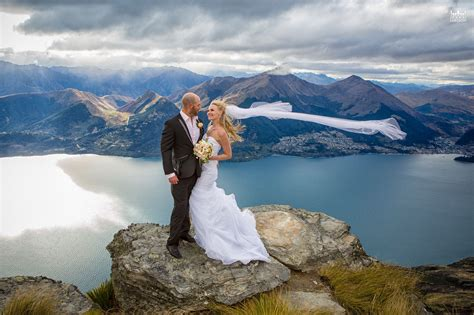 destination heli wedding on the ledge queenstown new