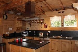 formidable sejour ouvert sur cuisine 3 la scie location With amazing plans de maison moderne 15 cuisine chalet