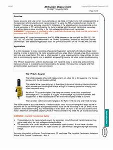 Ac Current Measurement On Hv System