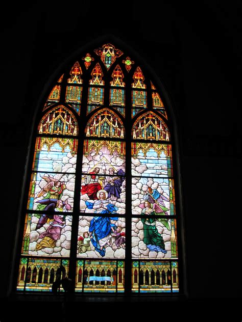 antique stained glass windows full sets large stained glass window