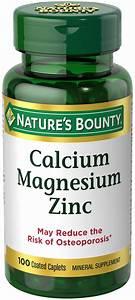 Best Calcium Magnesium Zinc Supplement