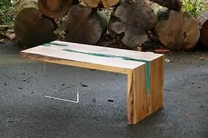 Table Verre Bois : table bois verre riviere 08 la boite verte ~ Teatrodelosmanantiales.com Idées de Décoration