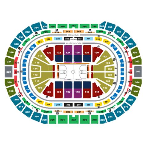pepsi center denver  schedule seating chart directions