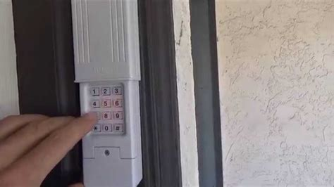 how to change a garage code clicker keyless entry change code pin