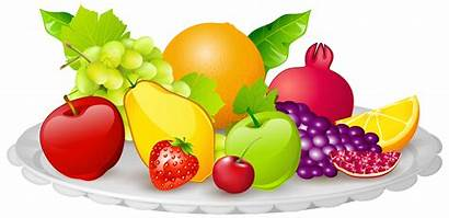 Fruits Fruit Clip Clipart Plate Fall Cliparts