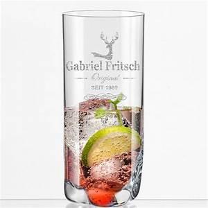Trinkglas Mit Namen : longdrinkbecher mit namen geschenkplanet ~ Markanthonyermac.com Haus und Dekorationen