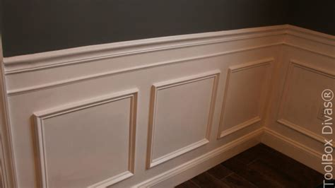 How To Install Wainscoting In Dining Room by How To Install Picture Frame Moulding Wainscoting