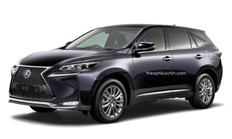 lexus suv 2016 2016 lexus rx rendered bigger suv 3 row version to