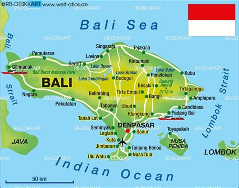 map  bali indonesia travelbeenthere pinterest