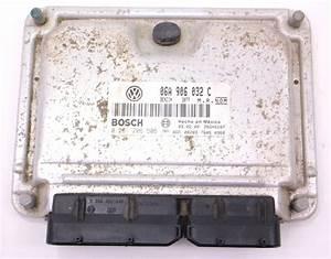 Ecu Ecm Engine Computer 00-01 Vw Beetle 1 8t Aph Mt - Genuine