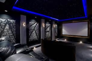 Home Theater Ceiling Design by Home Theater Contemporary Home Theater Phoenix By