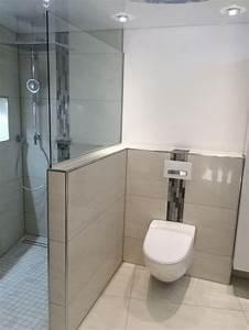 Gäste Wc Renovieren : abtrennung zwischen dusche und wc bad pinterest badezimmer bad und baden ~ Markanthonyermac.com Haus und Dekorationen