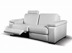 Modern reclining sofa granados by seduta d39arte sofas for Small italian sectional sofa