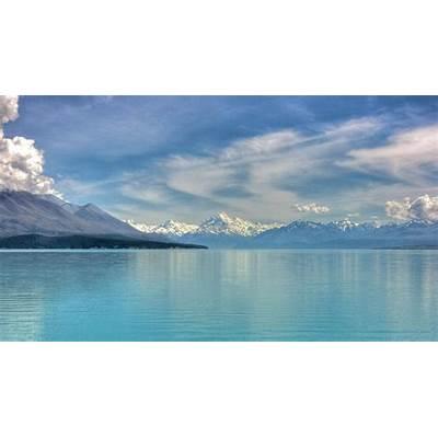Lake Pukaki aka Laketown from #TheHobbit♡ My Heart
