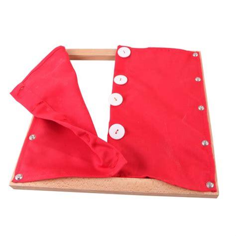 montessori premium cadre d habillage avec fermeture 224 gros boutons
