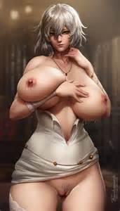 Rule 34 1girls Areolae Breasts Code Vein Erect Nipples