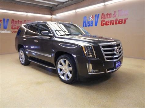 2015 Cadillac Escalade Luxury 56625 Miles Gray Sport