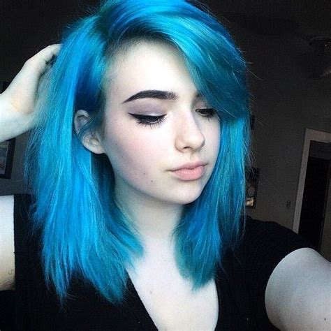 Hair Blue by 68 Daring Blue Hair Color For Edgy