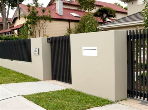 material types  houses fence  home ideas