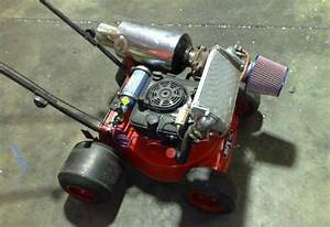 We Present You The Turbo Lawnmower GT Speed