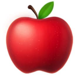 Red Apple Emoji (U+1F34E)