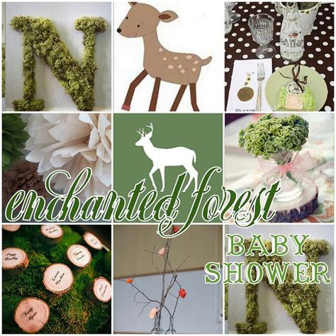 Enchanted Forest Theme Baby Shower