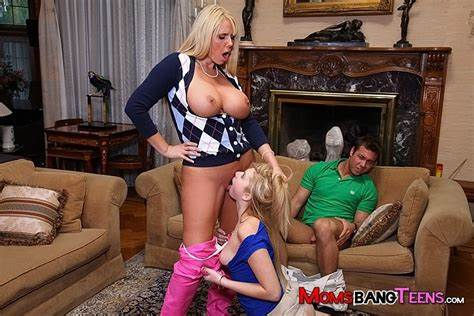 Join A Dad Banging This Stallion Molly Bennett And Karen Fisher On Wife Bang Sisters
