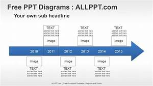 6 Years Arrow Timeline Ppt Diagrams   Download Free