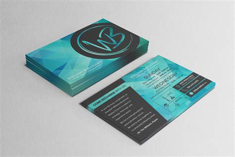 invitations design print church outreach materials