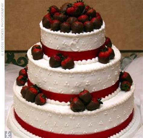 chocolate covered strawberry wedding cake cakecentralcom