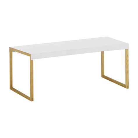 bureau ikea en verre kilo tables basses blanc bois métal habitat