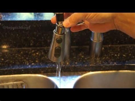 kitchen sink sprayer repair easy diy fix leaky kohler kitchen faucet pull 5957