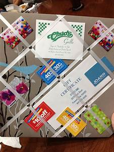 Best 25 Gift Card Displays Ideas On Pinterest Gift Card Basket Gift