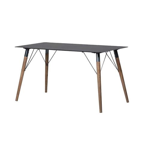 tin top dining table metal top dining table