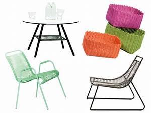 Fauteuil Fil Scoubidou : meubles en scoubidou embellir le jardin avec les ~ Teatrodelosmanantiales.com Idées de Décoration