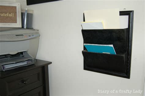 diary   crafty lady wall mounted paper  magazine