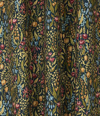 William Morris Upholstery Fabric by Kelmscott Cotton Curtain Upholstery Quilting Fabric