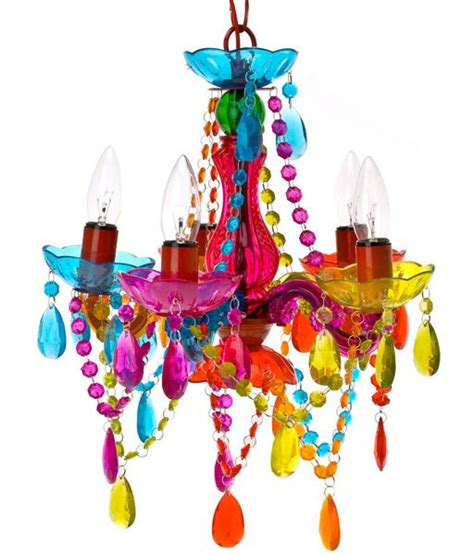Leitmotiv Gypsy Chandelier Ceiling Light Small Multi