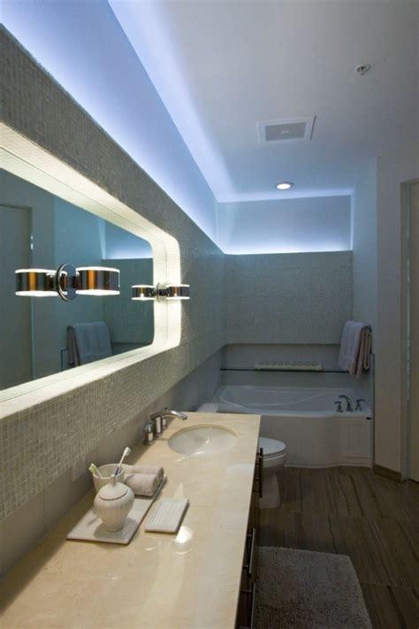 miroir plafond chambre éclairage led indirect 55 idées tendance pour chaque
