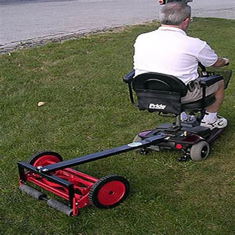 promow pro reel mower  power chairs