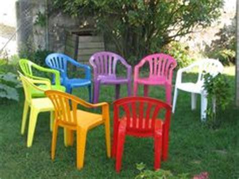 peindre chaise de jardin en plastique comment peindre une chaise de jardin en plastique