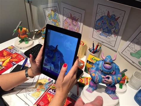 Crayola's Color Alive! Bring Kids Coloring To