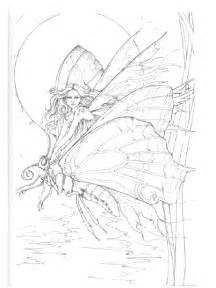 Fairy Mermaid Coloring Pages