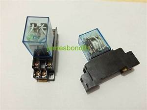 110v Ac Coil Power Relay Dpdt Ly2nj Hh62p